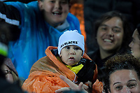 Fans in the grandstand during the Super Rugby match between the Chiefs and Hurricanes at FMG Stadium in Hamilton, New Zealand on Friday, 13 July 2018. Photo: Dave Lintott / lintottphoto.co.nz