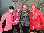 Brenda Kirwan, Louise Grimes, Aisling Neacy and Kasia Reynolds who took part in the Duleek & District 5K run. Photo:Colin Bell/pressphotos.ie