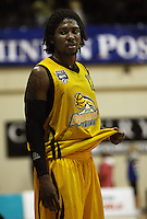 Dynamos import Phillip Gilbert after the loss during the NBL Round 9 match between the Wellington Saints and Nelson Giants at TSB Bank Arena, Wellington, New Zealand on Thursday 7 May 2009. Photo: Dave Lintott / lintottphoto.co.nz