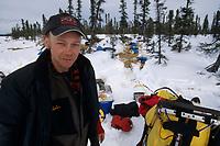 Mitch Seavey at Cripple Checkpoint Alaska<br /> 2004 Iditarod