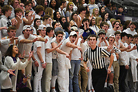 Fayetteville fans cheer during a basketball game, Friday, January 10, 2020 at Fayetteville High School in Fayetteville. Check out nwaonline.com/200111Daily/ for today's photo gallery.<br /> (NWA Democrat-Gazette/Charlie Kaijo)