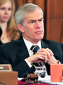 United States Senator Jeff Bingaman (Democrat of New Mexico), Chairman, U.S. Senate Committee on Energy and Natural Resources, listens to testimony during the committee's hearing to review current issues related to offshore oil and gas development including the Department of the Interior's recent five year planning announcements and the accident in the Gulf of Mexico involving the offshore oil rig Deepwater Horizon in Washington, D.C. on Tuesday, May 11, 2010..Credit: Ron Sachs / CNP