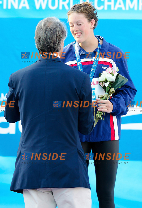 Roma 29th July 2009 - 13th Fina World Championships .From 17th to 2nd August 2009.200 m Freestyle women's .Vollmer Dana USA Silver Medal.photo: Roma2009.com/InsideFoto/SeaSee.com
