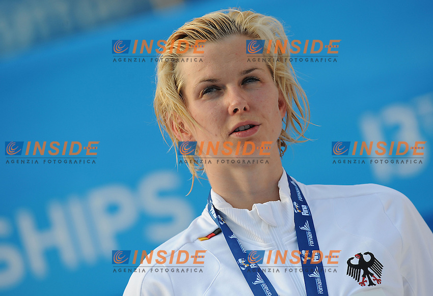 Roma 31st July 2009 - 13th Fina World Championships .From 17th to 2nd August 2009.Women's 100m Freesyle.Steffen Britta GER Gold Medal and new W.R..Roma2009.com/InsideFoto/SeaSee.com