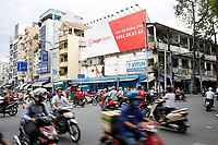 Street photography in Ho-Chi-Minh City, December 2019.<br /> by Pierre Roussel - Roussel Fine Art Photo
