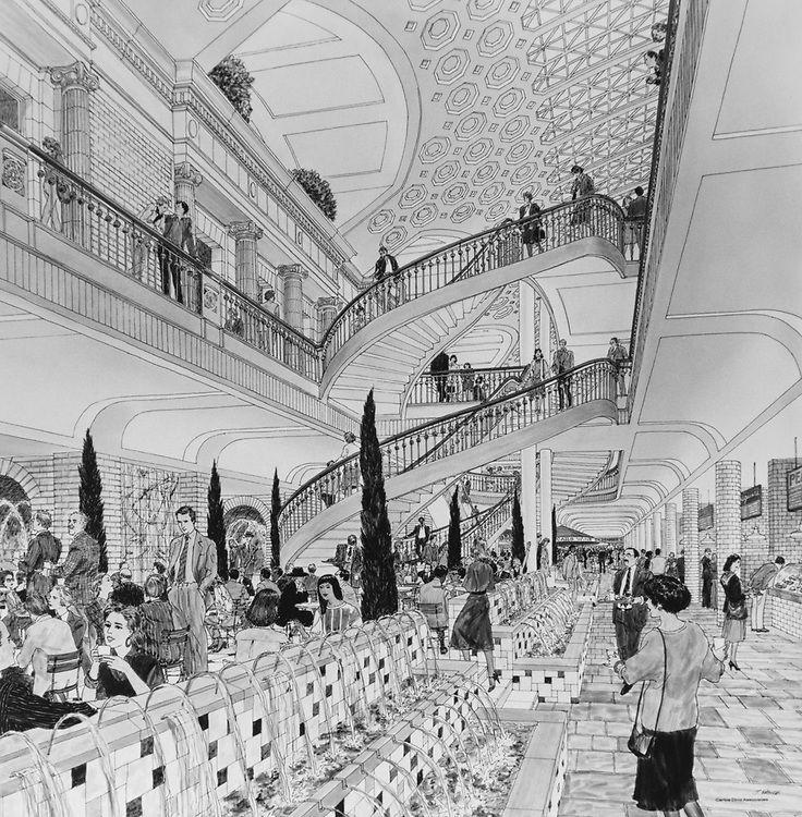 Interior of the Washington Union Station. (Photo by CQ Roll Call via Getty Images)