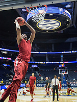 NWA Democrat-Gazette/BEN GOFF @NWABENGOFF<br /> Arkansas vs Florda Thursday, March 14, 2019, during the second round game in the SEC Tournament at Bridgestone Arena in Nashville.