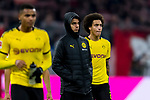 09.11.2019, Allianz Arena, Muenchen, GER, 1.FBL,  FC Bayern Muenchen vs. Borussia Dortmund, DFL regulations prohibit any use of photographs as image sequences and/or quasi-video, im Bild enttaeuscht Axel Witsel (BVB #28) <br /> <br />  Foto © nordphoto / Straubmeier