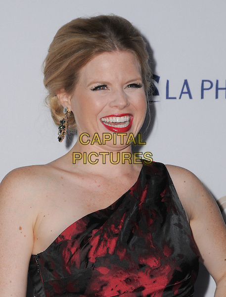 27 September 2016 - Los Angeles, California. Megan Hilty. Los Angeles Philharmonic 2016/17 Opening Night Gala: Gershwin And The Jazz Age held at The Walt Disney Concert Hall. <br /> CAP/ADM/BT<br /> &copy;BT/ADM/Capital Pictures