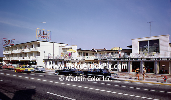Exterior of the El Ray Motel, Wildwood NJ