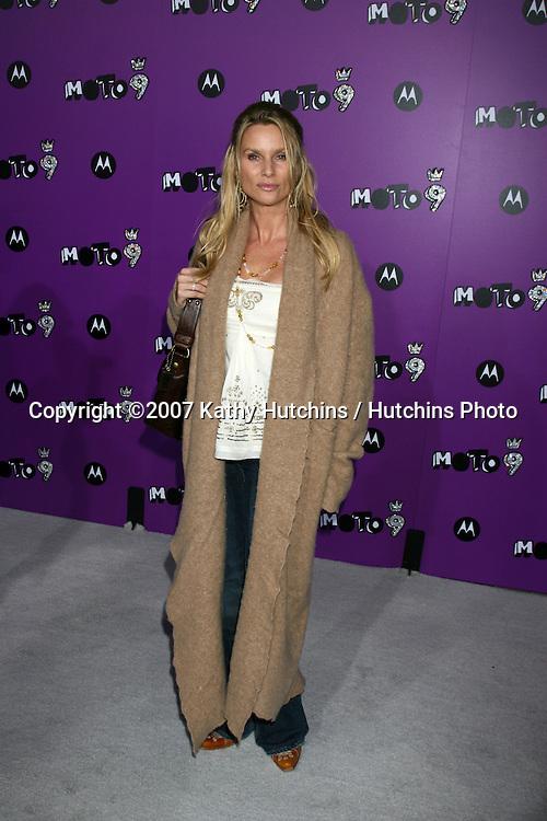 "Nicollette Sheridan.Motorola 9 Party.""The Lot"".Los Angeles,  CA.November 8, 2007.©2007 Kathy Hutchins / Hutchins Photo...               ."