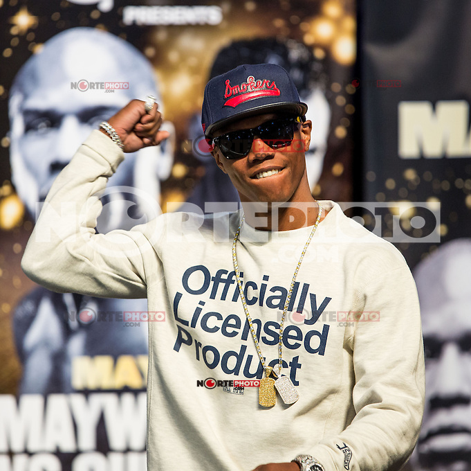 LAS VEGAS, NV - May 3: Zab Judah pictured at Floyd Maywether Jr. vs Robert Guerro weigh in at MGM Grand Garden Arean on May 3, 2013 in Las Vegas, NV. © Kabik/ Starlitepics