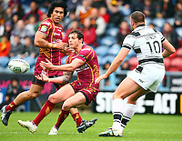 PICTURE BY VAUGHN RIDLEY/SWPIX.COM - Rugby League - Super League - Huddersfield Giants v Hull FC - Galpharm Stadium, Huddersfield, England - 09/04/12 - Huddersfield's Scott Grix.