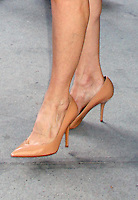 NEW YORK CITY, NY - July 16, 2012: Close up of Kyra Sedgwick's shoes at CBS This Morning studios in New York City. © RW/MediaPunch Inc.