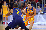 League ACB-ENDESA 2017/2018 - Game: 12.<br /> FC Barcelona Lassa vs Herbalife Gran Canaria: 77-88.<br /> Phil Pressey vs Oriol Pauli.