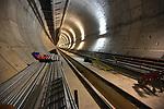 Obras de construçao de linha do Metro, Vila Mariana, Sao Paulo. Brasil. 2016. Foto de Thaïs Falcão.