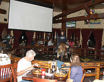September 22nd 2011  Exclusive<br /> <br /> Bar Heckler Stephen Hanks who shouted at Bristol Palin that &quot;her mother was &quot;evil&quot; and a &quot;whore&quot;  has now filed a lawsuit against Bristol for defamation.<br /> <br /> It's all over that infamous encounter at Saddle Ranch on the Sunset Strip at Saddle Ranch restaurant bar from September 22nd 2011 <br /> <br /> September 22nd 2011  Exclusive<br /> <br /> Bristol Palin was filming her new reality show while eating &amp; drinking with a male &amp; female friend at The Saddle Ranch Bar/Restaurant in Hollywood California.When a bald drunk homosexual male named Stephen Hanks was yelling at Bristol while she was riding the mechanical bull. The drunk bald man yelled at Bristol &quot;Your mom is a whore!&quot; &amp; &quot;your mother is the Anti-Christ&quot; &amp; &quot;she should burn in hell&quot; After Bristol fell off the bull she approached the man &amp; got into a verbal argument with him &amp; exchanged words. The bald man was yelling about how horrible of a person her mother is etc.  The argument got so heated that the camera crew had to step in before punches were thrown. Bristol ended up leaving the bar crying &amp; the cops were called. <br /> <br /> AbilityFilms@yahoo.com<br /> 805-427-3519<br /> www.AbilityFms.com