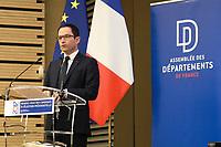 Benoit Hamon - ASSEMBLEE DES DEPARTEMENTS DE FRANCE AVEC LES CANDIDATS A L'ELECTION PRESIDENTIELLE