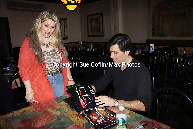 All My Children's Vincent Irizarry entertains his fans on February 6, 2011 with a Q&A, antidotes, photos and autographs at Uncle Vinnie's Comedy Club in Point Pleasant, New Jersey. (Photo by Sue Coflin/Max Photos)