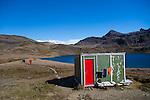 The hike from Maiviken to Grytviken, South Georgia, Great Britain, UK