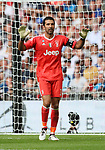 Juventus Gianluigi Buffon in action during the pre season match at Wembley Stadium, London. Picture date 5th August 2017. Picture credit should read: David Klein/Sportimage