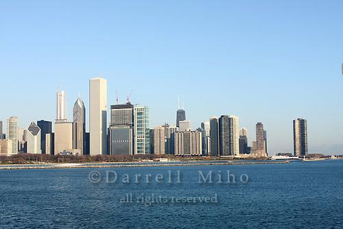 Nov. 08, 2008; Chicago, IL - Downtown Chicago Skyline..Photo credit: Darrell Miho