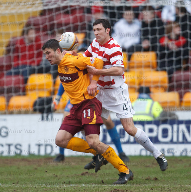 Martin Canning fouls john Sutton inside the box for a penalty kick