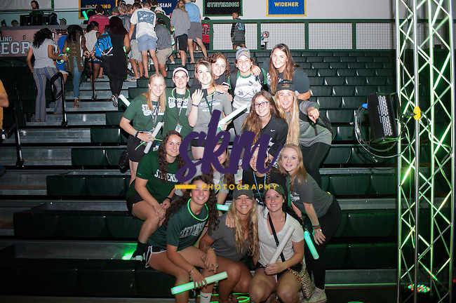 Stevenson University kicks off the new year in sports with a pep rally introducing the fall teams on Wednesday night at Owings Mills gymnasium.
