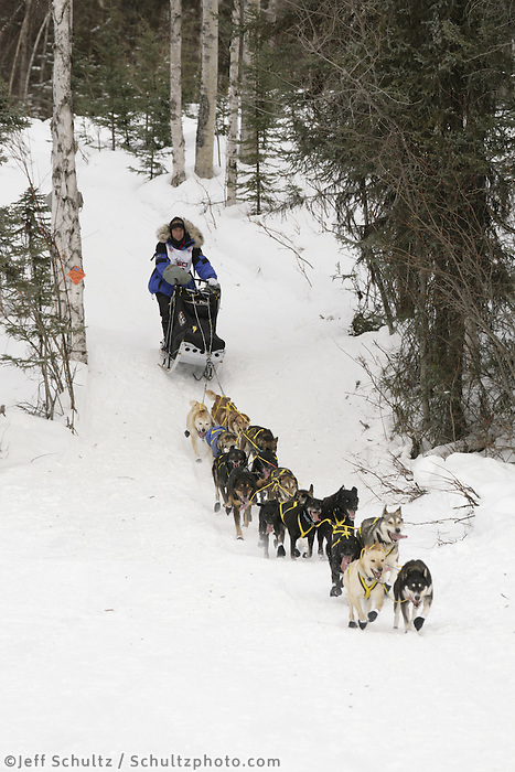 Hans Gatt Willow restart Iditarod 2008.