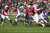 Stanford, CA -- November 23, 2013:  Stanford's Jarek Lancaster during a game against Cal at Stanford Stadium. Stanford defeated Cal 63-13.