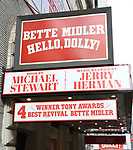 Tony Award flare for Bette Midler 'Hello,Dolly!'