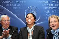 05.10.2011: UEFA PK mit Steffi Jones