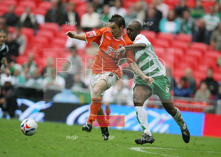 Blackpool v Yeovil Coca Cola League 1 Play Off Final Wembley Stadium 27-05-07.Pic © Phill Heywood