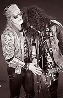 Axl Rose Lead Singer of Guns n Roses Live 1987<br /> Photo Credit: Eddie Malluk