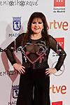 Loles Leon attends to XXV Forque Awards at Palacio Municipal de Congresos in Madrid, Spain. January 11, 2020. (ALTERPHOTOS/A. Perez Meca)