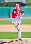 28 February 2016: Washington Nationals pitcher Sean Burnett on the mound during an inter-squad pre-season Spring Training game at Space Coast Stadium in Viera, Florida. Mandatory Credit: Ed Wolfstein Photo *** RAW (NEF) Image File Available ***