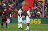 Emre Can and Paulo Dybala of Juventus react after second goal of Genoa during the Serie A 2018/2019 football match between Genoa CFC and Juventus FC at stadio Luigi Ferraris, Genova, March 17, 2019 <br /> Photo Andrea Staccioli / Insidefoto