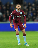 Aston Villa's Conor Hourihane during the game <br /> <br /> Photographer Ian Cook/CameraSport<br /> <br /> The EFL Sky Bet Championship - Swansea City v Aston Villa - Wednesday 26th December 2018 - Liberty Stadium - Swansea<br /> <br /> World Copyright © 2018 CameraSport. All rights reserved. 43 Linden Ave. Countesthorpe. Leicester. England. LE8 5PG - Tel: +44 (0) 116 277 4147 - admin@camerasport.com - www.camerasport.com