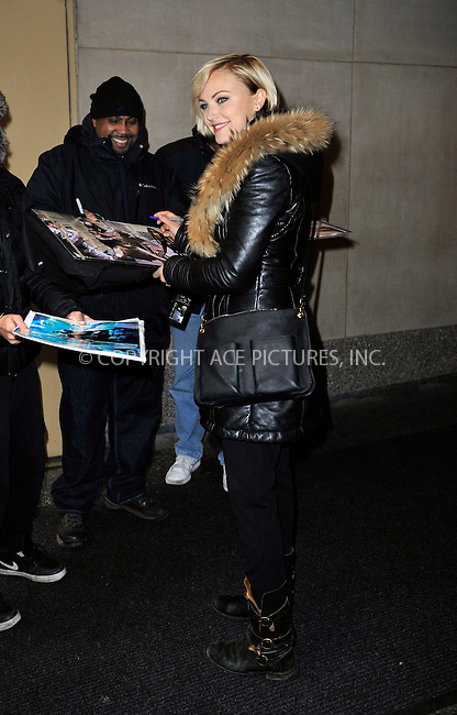 WWW.ACEPIXS.COM<br /> <br /> January 22 2015, New York City<br /> <br /> Actress Malin Akerman made an appearance at 'The Today Show' on January 22 2015 in New York City<br /> <br /> By Line: Curtis Means/ACE Pictures<br /> <br /> <br /> ACE Pictures, Inc.<br /> tel: 646 769 0430<br /> Email: info@acepixs.com<br /> www.acepixs.com
