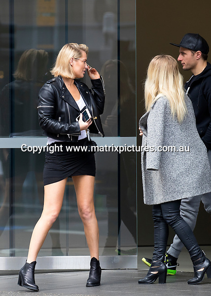 25 SEPTEMBER 2016 SYDNEY, AUSTRALIA<br /> WWW.MATRIXPICTURES.COM.AU<br /> <br /> EXCLUSIVE PICTURES<br /> <br /> Keira Maguire pictured at Bondi Junction with some friends leaving the Apple Store. <br /> <br /> *ALL WEB USE MUST BE CLEARED*<br /> <br /> Please contact prior to use:  <br /> <br /> +61 2 9211-1088 or email images@matrixmediagroup.com.au