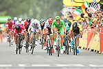 Marcel Kittel (GER) Quick-Step Floors sprints for the finish line of Stage 10 of the 104th edition of the Tour de France 2017, running 178km from Perigueux to Bergerac, France. 11th July 2017.<br /> Picture: ASO/Alex Broadway | Cyclefile<br /> <br /> <br /> All photos usage must carry mandatory copyright credit (&copy; Cyclefile | ASO/Alex Broadway)