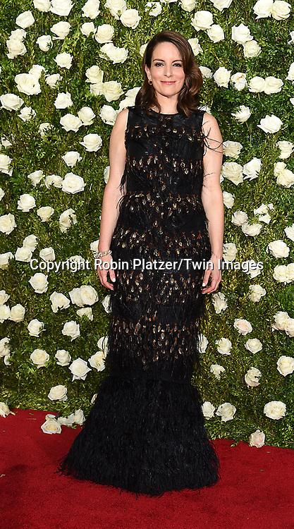 Tina Fey attends the 71st Annual  Tony Awards on June 11, 2017 at Radio City Music Hall in New York, New York, USA.<br /> <br /> photo by Robin Platzer/Twin Images<br />  <br /> phone number 212-935-0770