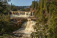 &quot;Middle and Lower Gooseberry Falls&quot;<br />