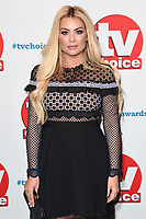 LONDON, UK. September 10, 2018: Nicola McLean at the TV Choice Awards 2018 at the Dorchester Hotel, London.<br /> Picture: Steve Vas/Featureflash
