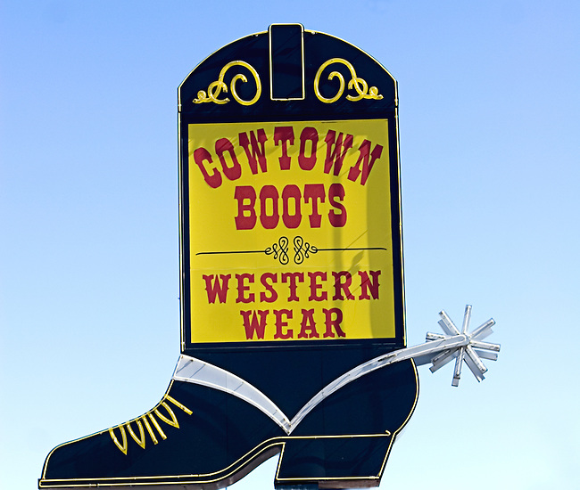 Cowtown Boots, Las Vegas, Nevada
