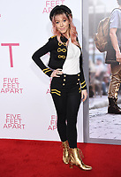 07 March 2019 - Westwood, California - Lindsey Stirling. &quot;Five Feet Apart&quot; Los Angeles Premiere held at the Fox Bruin Theatre.  <br /> CAP/ADM/BT<br /> &copy;BT/ADM/Capital Pictures