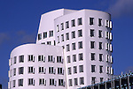 Europe, DEU, Germany, North Rhine Westphalia, Rhineland, Lower Rhine, Dusseldorf, New Zollhof, Media Port, Detail, Office Building....[ For each utilisation of my images my General Terms and Conditions are mandatory. Usage only against use message and proof. Download of my General Terms and Conditions under http://www.image-box.com or ask for sending. A clearance before usage is necessary...Material is subject to royalties. Each utilisation of my images is subject to a fee in accordance to the present valid MFM-List...Contact | archive@image-box.com | www.image-box.com ]