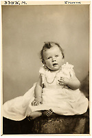 BNPS.co.uk (01202 558833)<br /> Pic: MarcusAdams/ChiswickAuctions/BNPS<br /> <br /> Princess Elizabeth(8 months) in January 1927.<br /> <br /> Charming childhood photos of Princess Elizabeth and Princess Margaret have come to light, including a previously unseen image of the future Queen in a kilt.<br /> <br /> The portraits, taken by acclaimed British society photographer Marcus Adams, capture the future Queen from being a baby to her adolescence.<br /> <br /> The Queen Mother would often take her daughters to his central London studio where he would set up toys and props to keep them entertained
