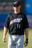 Wes Hodges (11) of the Akron Aeros at Prince Georges Stadium in Bowie, MD, Tuesday June 17, 2008.