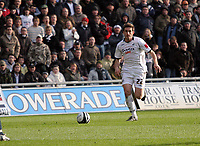 Pictured: Angel Rangel of Swansea City in action<br /> Re: Coca Cola Championship, Swansea City FC v Cardiff City at the Liberty Stadium. Swansea, south Wales, Sunday 30 November 2008.<br /> Picture by D Legakis Photography / Athena Picture Agency, Swansea 07815441513